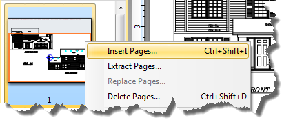 how to insert pdf into pages