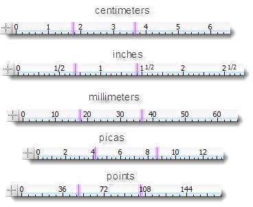 how to change ruler units in photoshop